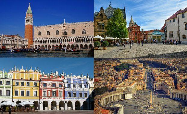 Najpiękniejsze place - Europa